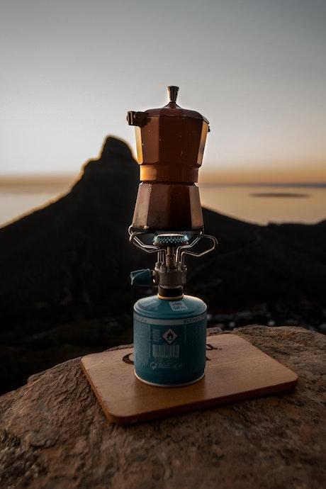 クッカーセット「自然のなかで食事&コーヒー」